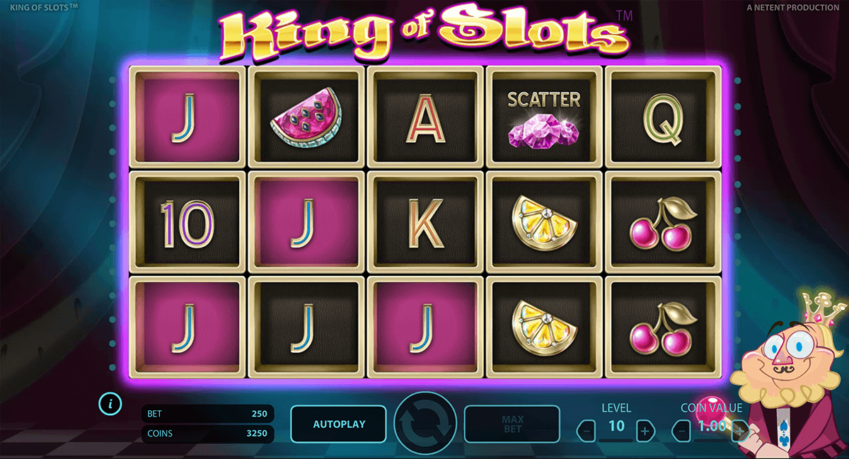 KING OF SLOTS NETENT CASINO SLOTS