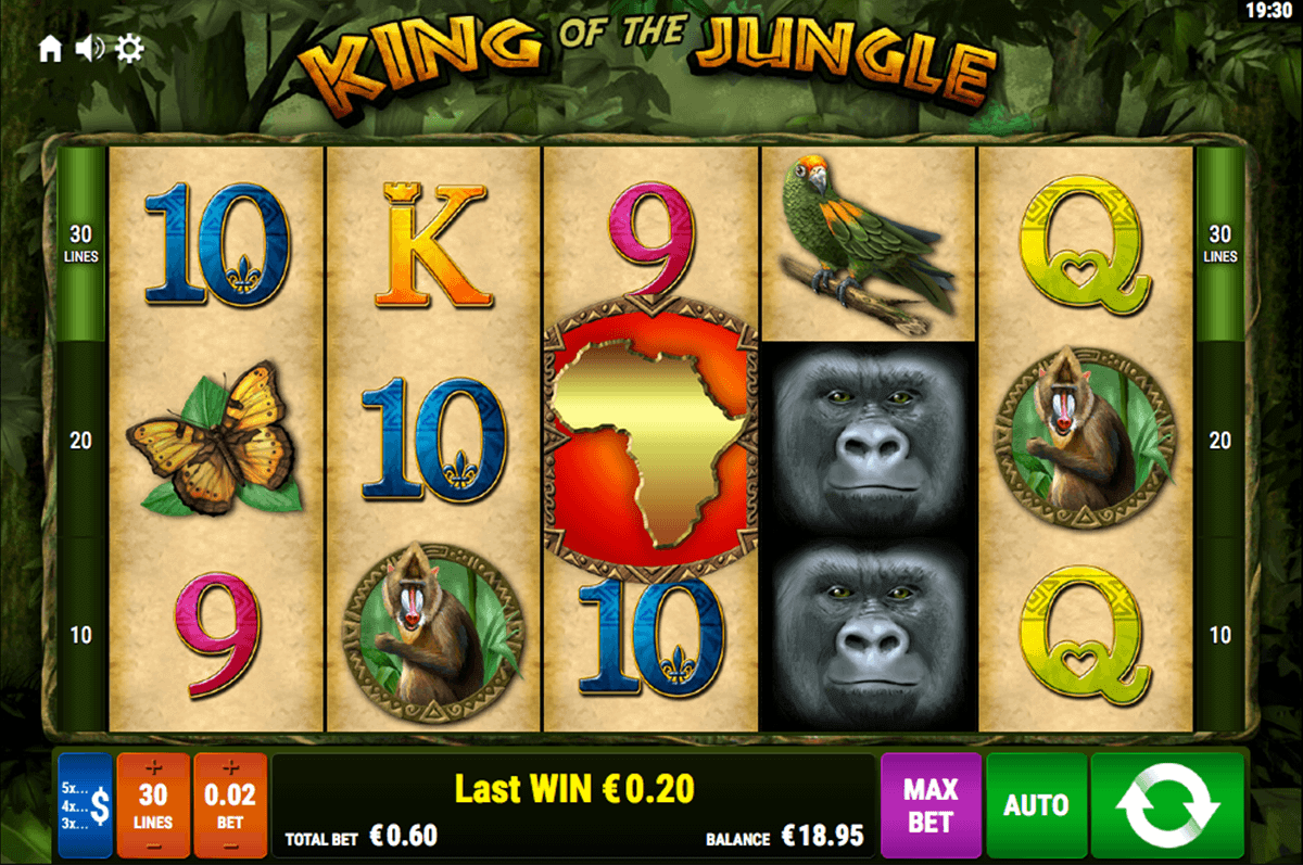 king of the jungle casino