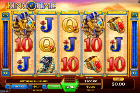 KING OF TIME GAMEART SLOT MACHINE