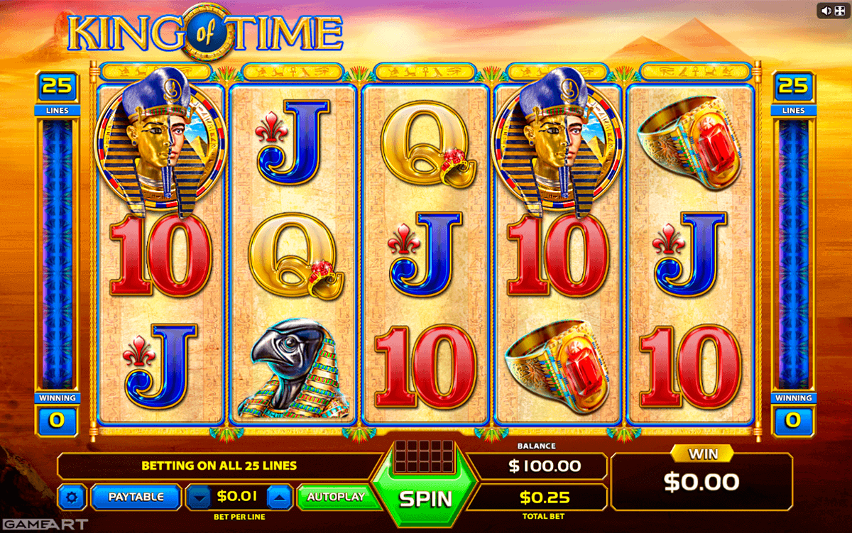 King Of Time Slot Machine Online ᐈ GameArt™ Casino Slots