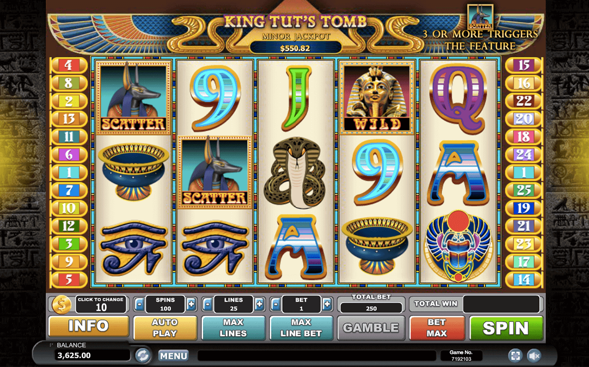 Spiele King TutS Tomb - Video Slots Online