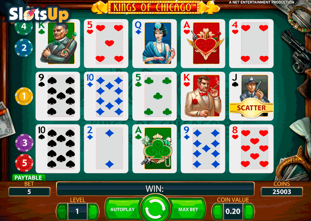 Kings of Chicago™ Slot Machine Game to Play Free in NetEnts Online Casinos