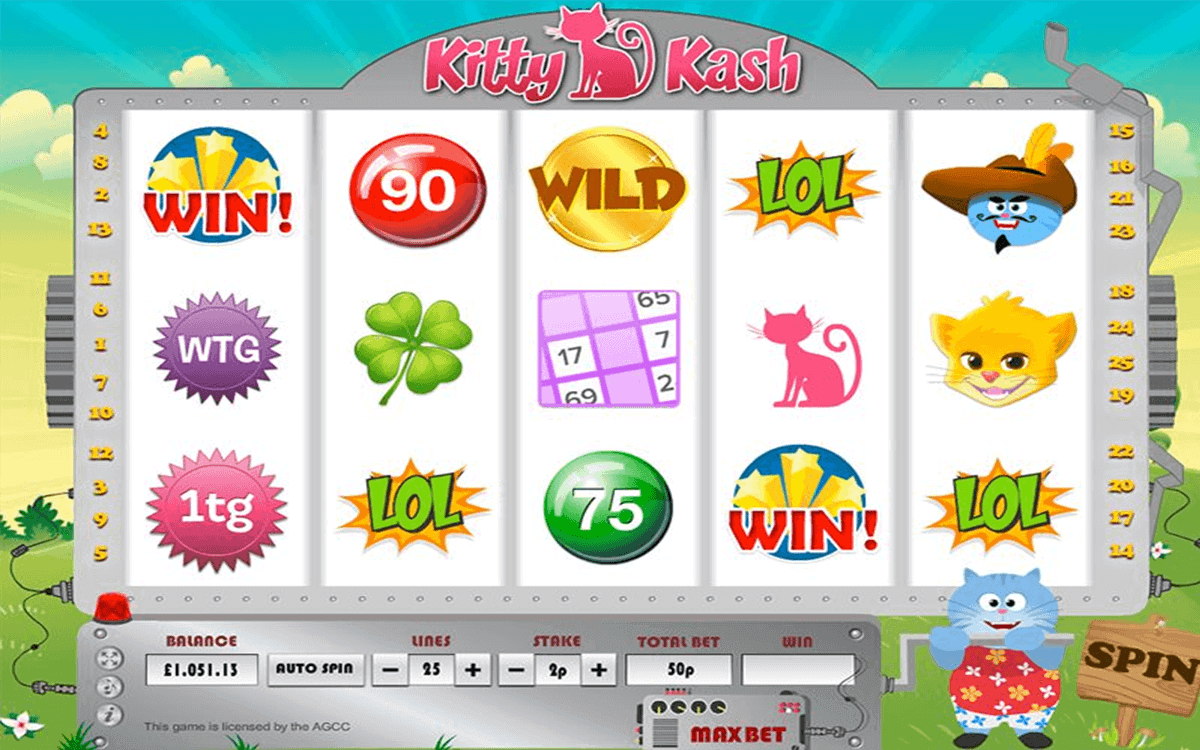 KITTY KASH DAUB GAMES CASINO SLOTS