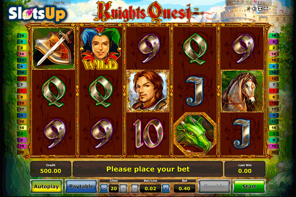 Knights Quest Slot - Try it Online for Free or Real Money