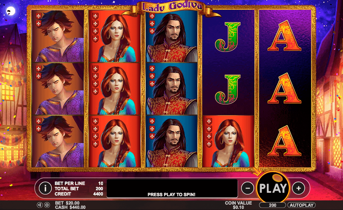 Lady Godiva Slot Machine Online ᐈ Pragmatic Play™ Casino Slots