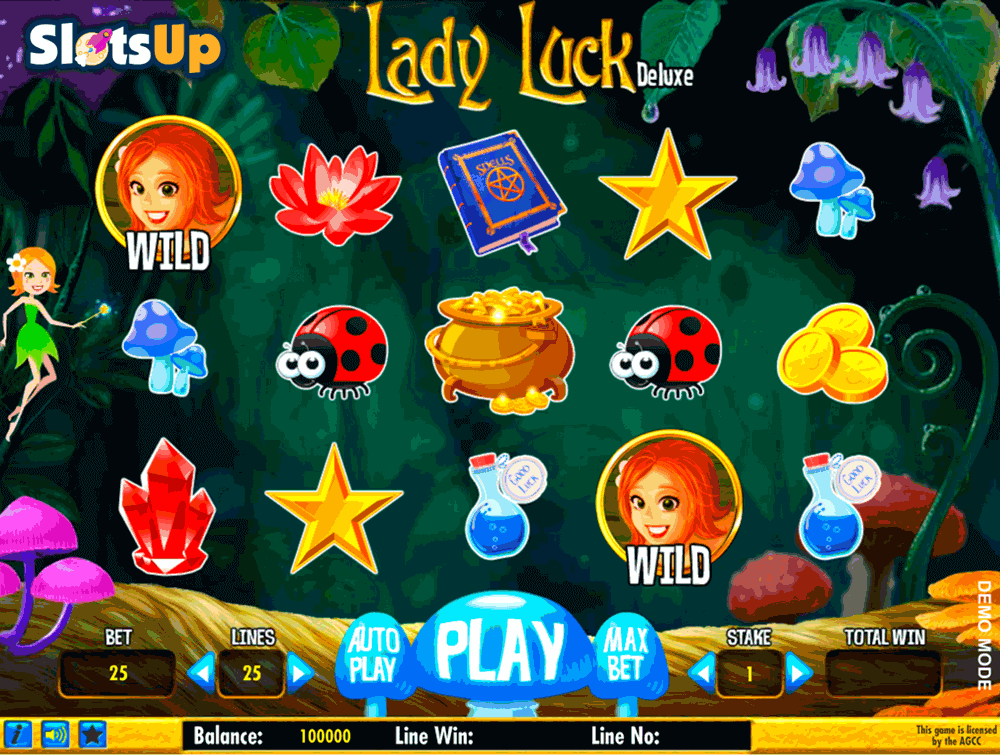 LADY LUCK DELUXE DAUB GAMES CASINO SLOTS