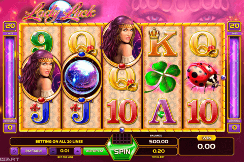 LADY LUCK GAMEART SLOT MACHINE