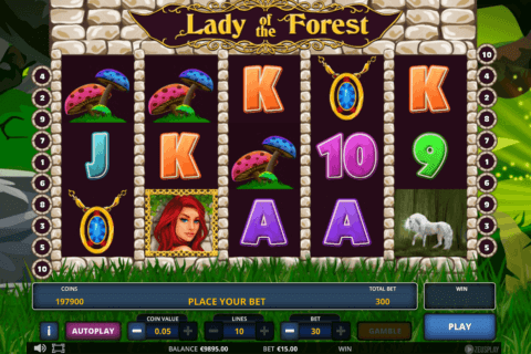 LADY OF THE FOREST ZEUS PLAY