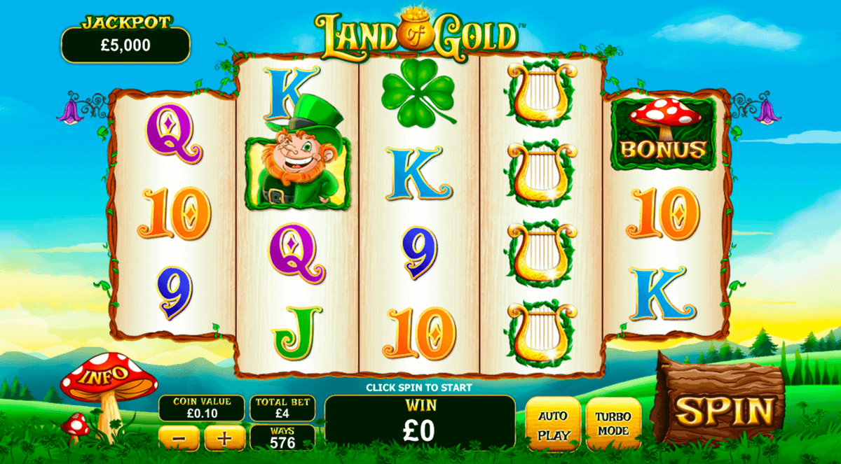 Land Of Gold™ Slot Machine Game to Play Free in Playtechs Online Casinos
