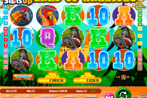 land of warriors portomaso casino slots 480x320