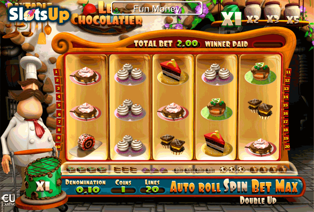 Le Chocolatier Slot Machine Review & Free Play Casino Game