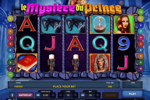 Le Mystere du Prince Slot Review & Free Online Demo Game