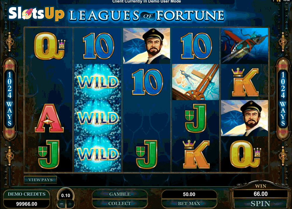 LEAGUES OF FORTUNE MICROGAMING CASINO SLOTS