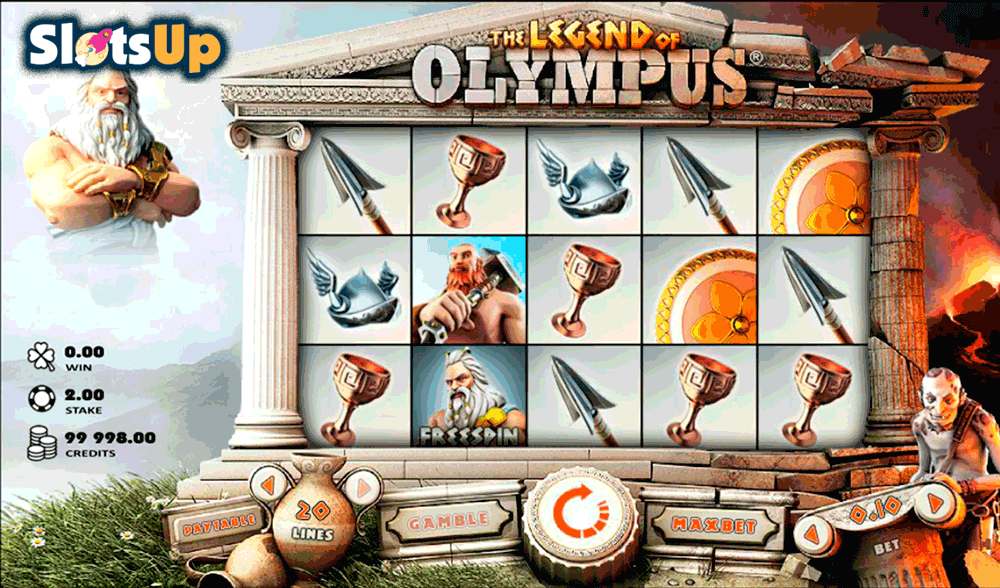 Legends of Greece Online Slot Machine - Free Play Game Here