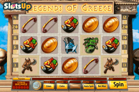LEGENDS OF GREECE SAUCIFY CASINO SLOTS