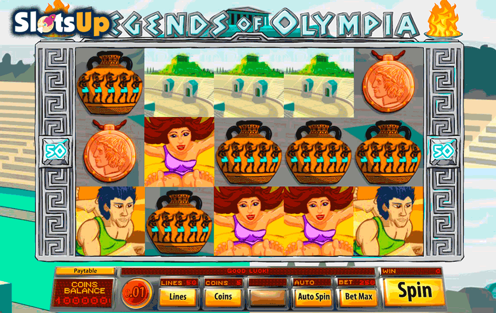 LEGENDS OF OLYMPIA SAUCIFY CASINO SLOTS