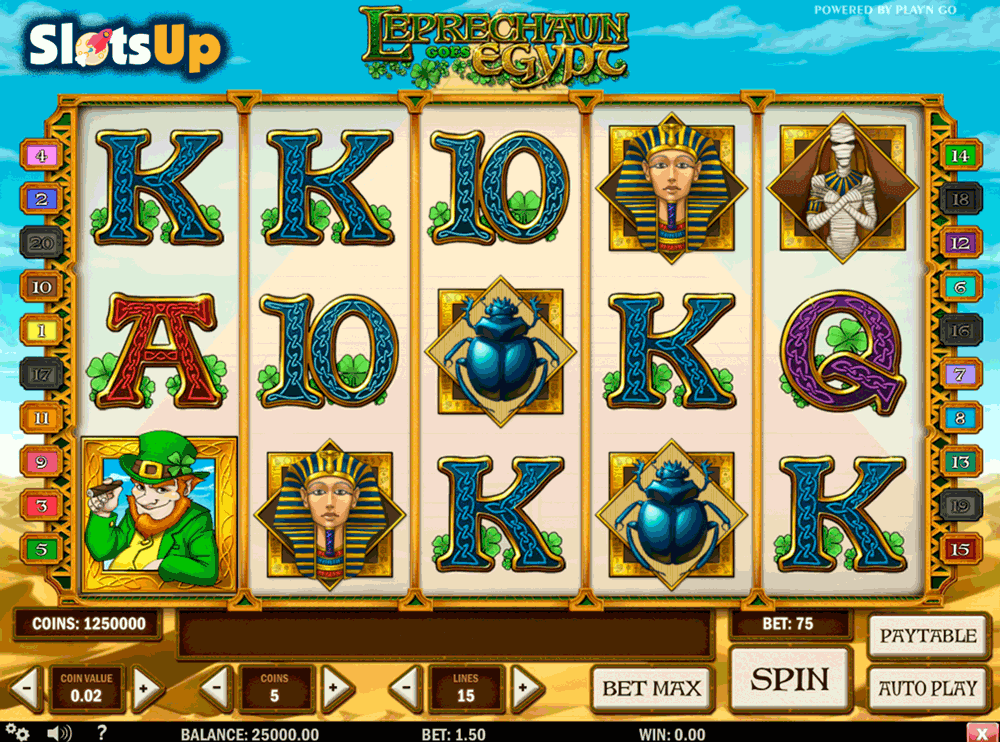 Leprechaun goes Egypt - Casumo Casino