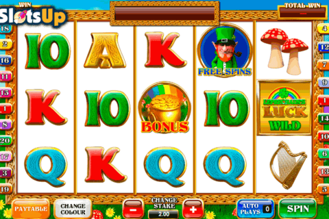 leprechauns luck ash gaming casino slots
