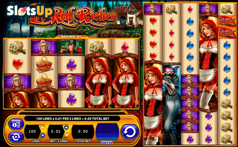 Little Red Slots - Free Play & Real Money Casino Slots