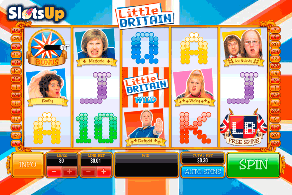 little britain playtech casino slots