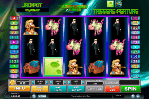 LITTLE GREEN MONEY HABANERO SLOT MACHINE