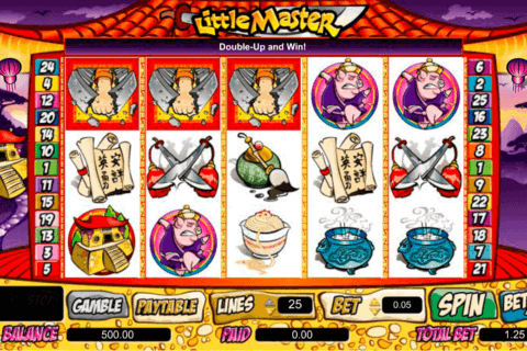 little master amaya casino slots