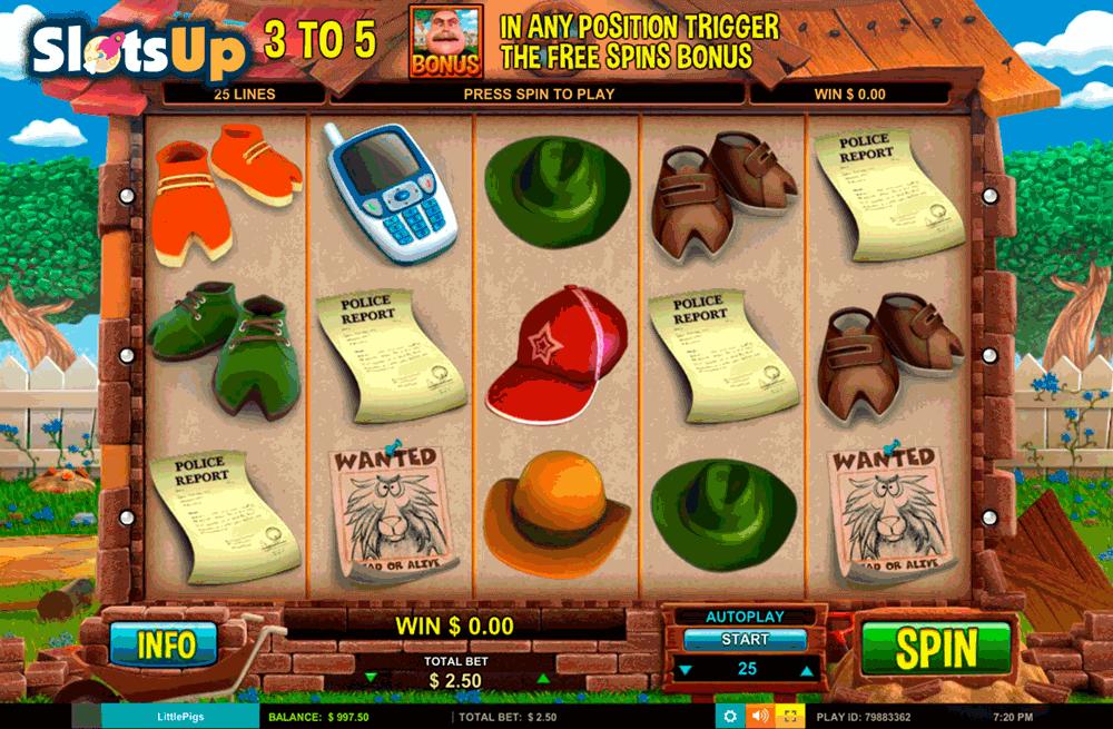 Little Pigs Strike Back™ Slot Machine Game to Play Free in Leander Gamess Online Casinos