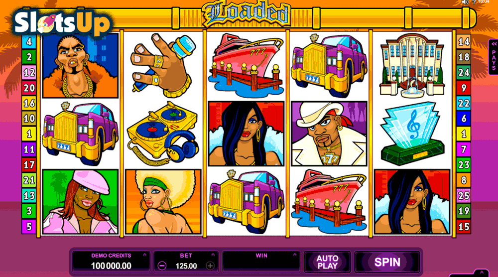LOADED MICROGAMING CASINO SLOTS