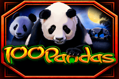 logo 100 pandas igt slot game