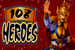 logo 108 heroes microgaming slot game