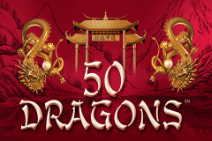 logo 50 dragons aristocrat slot game
