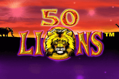 logo 50 lions aristocrat slot game