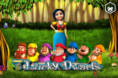 logo 7 lucky dwarfs leander slot game