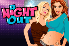 logo a night out playtech slot game