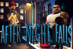 logo after night falls betsoft slot game