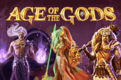 logo age of the gods playtech slot game