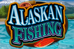logo alaskan fishing microgaming slot game