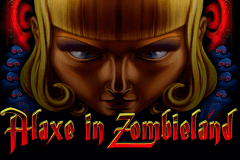 logo alaxe in zombieland genesis slot game
