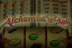logo alchemists lab playtech slot game