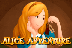 logo alice adventure isoftbet slot game