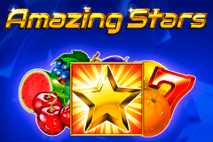 logo amazing stars novomatic slot game