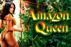 logo amazon queen wms slot game