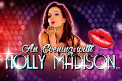 logo an evening with holly madison nextgen gaming slot game