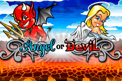 logo angel or devil playtech slot game