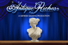 logo antique riches genesis slot game