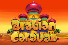 logo arabian caravan microgaming slot game