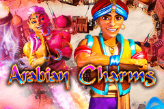 logo arabian charms barcrest slot game