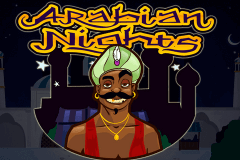 logo arabian nights netent slot game