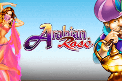 logo arabian rose microgaming slot game