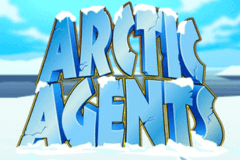 logo arctic agents microgaming slot game